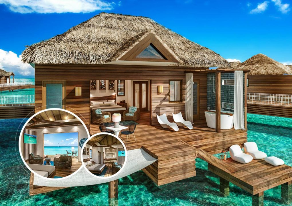 Sandals Resorts Announces New Overwater Bungalows In St Lucia Sweet St Lucia Caribbean