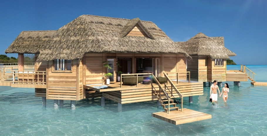519f103cd82 SANDALS RESORTS ANNOUNCES NEW OVERWATER BUNGALOWS IN ST. LUCIA ...