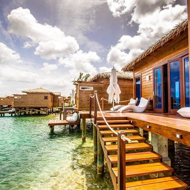 Over The Water Bungalows St Lucia: Over Water Bungalows In St.Lucia At Sandals Grande St
